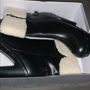 Women's Black Shoedazzle Heeled Boots